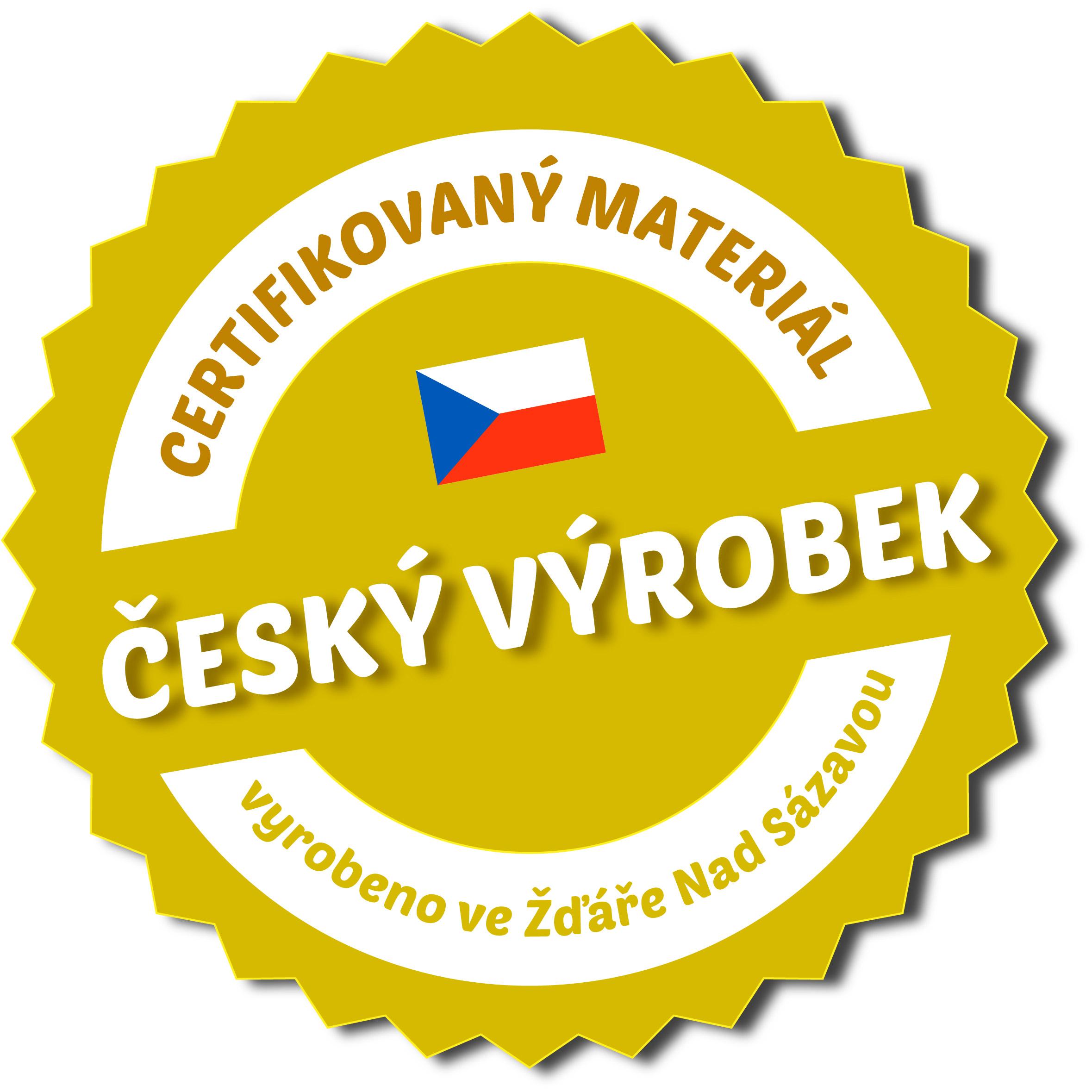 nalepka český výrobek